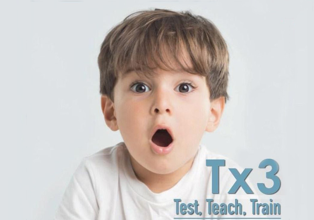 Tx3 – Test, Teach, Train
